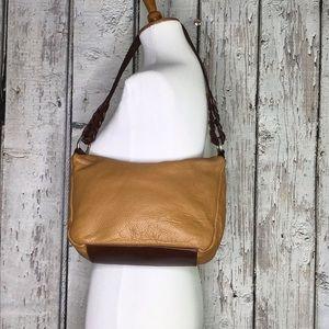 Valentina leather shoulder bag